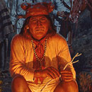 Geronimo By Firelight